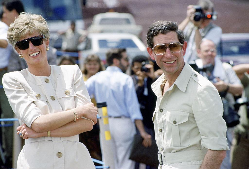 Lady Di y Carlos en una visita en Brasil en 1991 @Getty