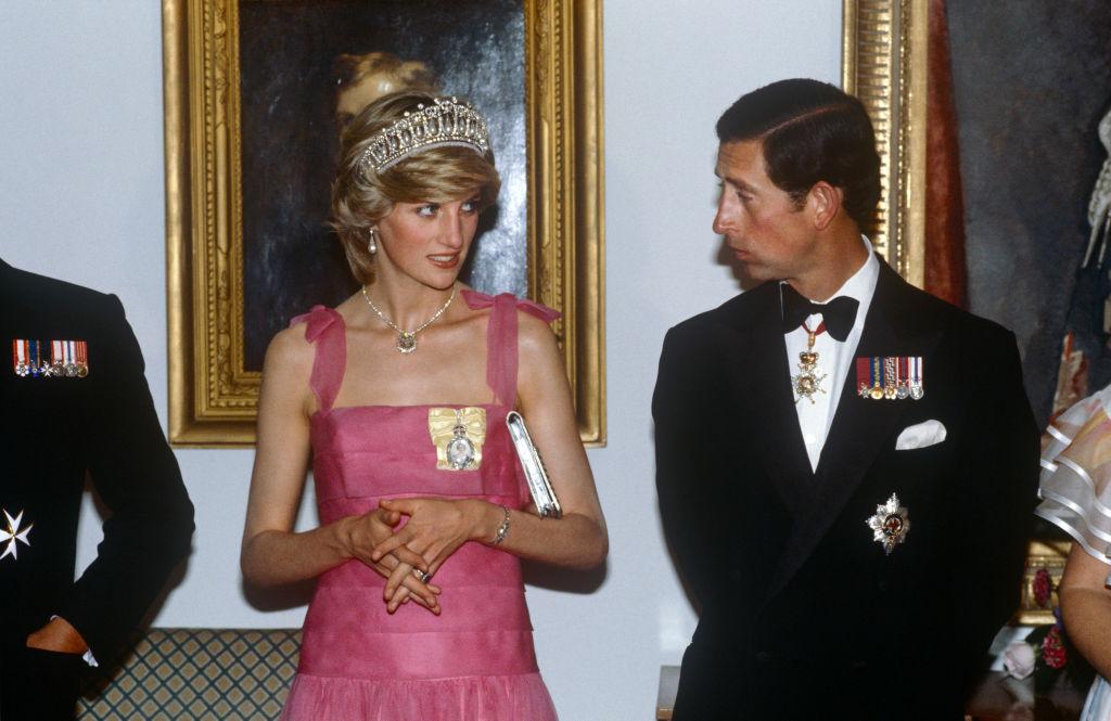 Carlos de Inglaterra y Lady Di en una visita oficial en Canadá en 1983. @Getty