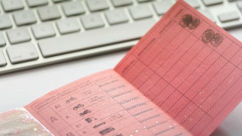 Carnet de conducir (Foto: iStock)