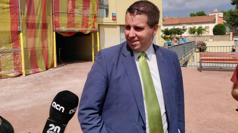 Jorge Piedrafita, abogado de la Asociación Española de Guardias Civiles. (EP)