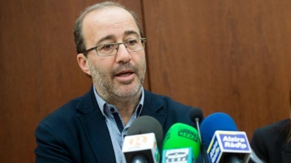 Diego Gómez, alcalde de Alzira.