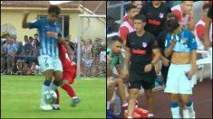 Joao Félix se marchó tocado en su estreno por un golpe en la cadera.