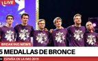 España sube del puesto 54 al 42 en la Olimpiada Internacional Matemática