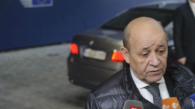 El ministro de Asuntos Exteriores francés Jean-Yves Le Drian