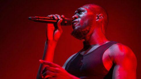 Stormzy en su actuación dentro del Festival Sónar 2019. Foto: Europa Press