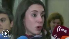 Irene Montero, portavoz de Podemos en el Congreso.
