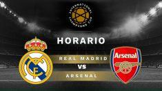 International Champions Cup 2019:  Real Madrid – Arsenal| Horario del partido de fútbol de la International Champions Cup.