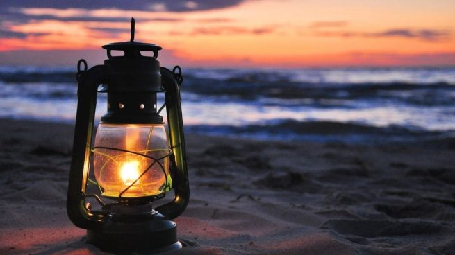 hacer lámparas de aceite