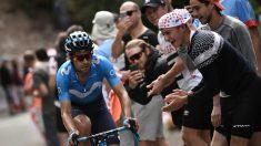 Mikel Landa, durante una etapa del Tour. (AFP)