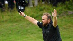 Lowry se llevó el Open Británico de golf. (getty)