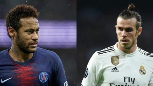 Neymar y Gareth Bale.
