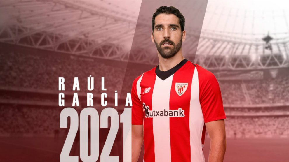 Raúl García renueva con el Athletic hasta 2021 (Athletic Club)