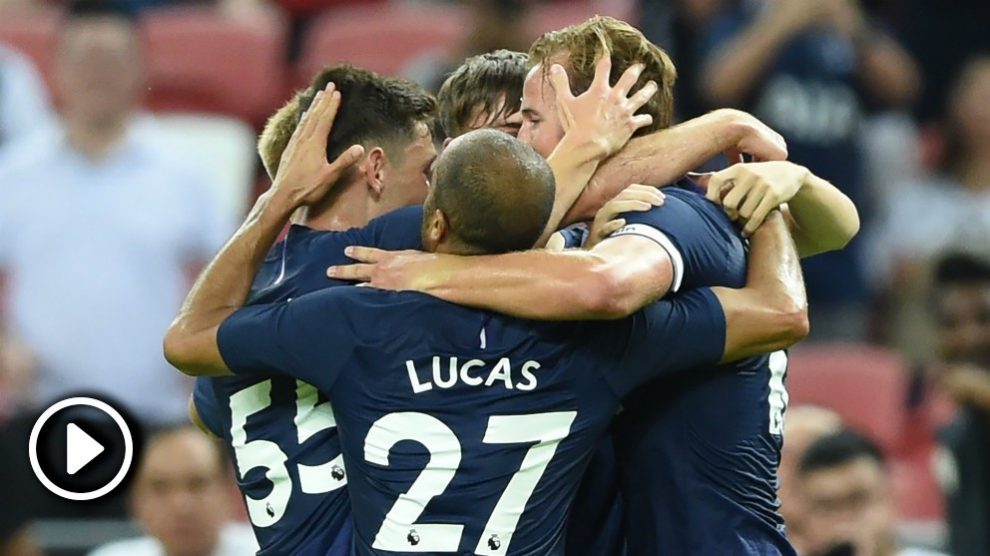 Así fueron los goles del Juventus 2-3 Tottenham de la International Champions Cup 2019.