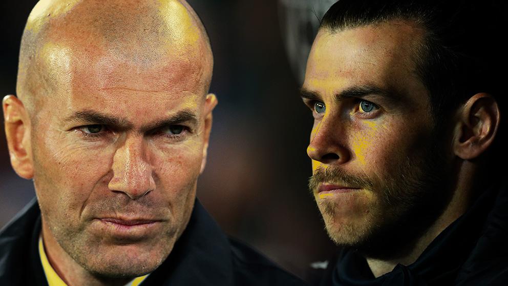 Zidane está «muy harto» del caso Bale
