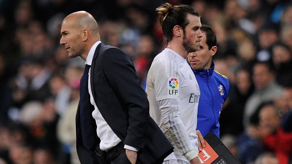 Zidane y Bale: historia de una relación rota