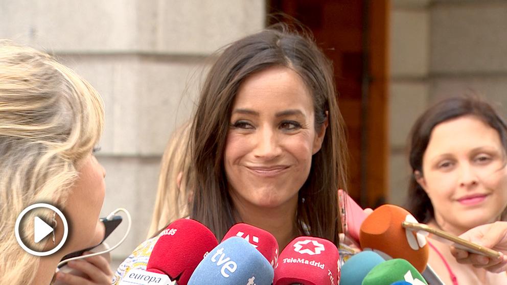 La vicelacaldesa de Madrid, Begoña Villacís. Foto: Europa Press