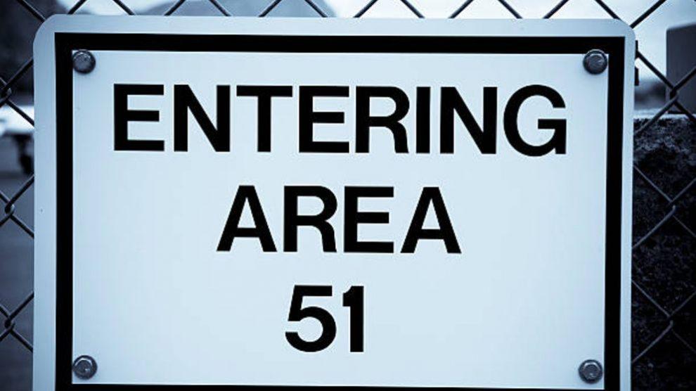 Descubre la misteriosa puerta de entrada en Nevada al Área 51