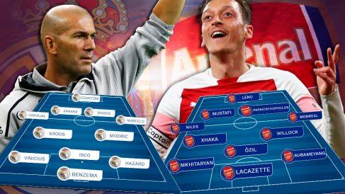 El Real Madrid se medirá al Arsenal con Bale en la rampa de salida.