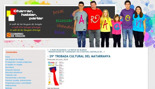 Web de las lenguas de Aragón