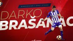 Darko Brasanac, nuevo fichaje de Osasuna (Club Atlético Osasuna)