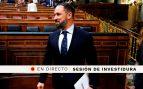 Santiago Abascal en el debate de investidura de Pedro Sánchez, en directo | Congreso de los Diputados