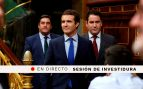 Debate de investidura de Pedro Sánchez: Congreso de los Diputados, en directo