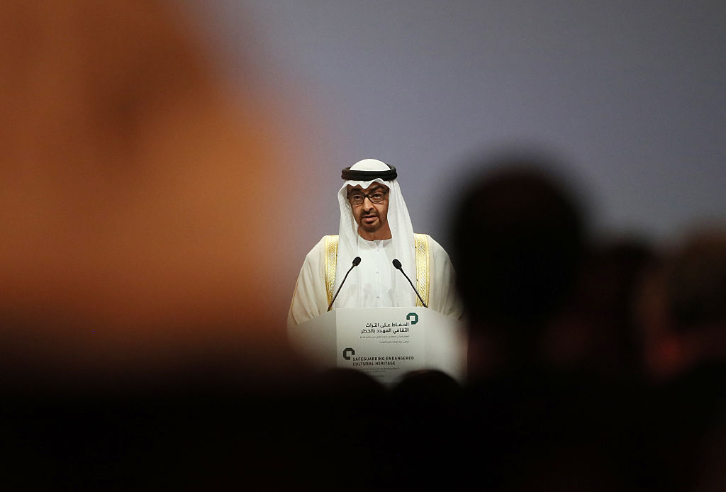 Mohamed bin Zayed al-Nahyan, rey de Abu Dhabi. @Getty