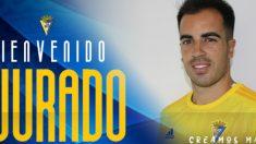 José Manuel Jurado, nuevo fichaje del Cádiz (Cádiz Club de Fútbol)