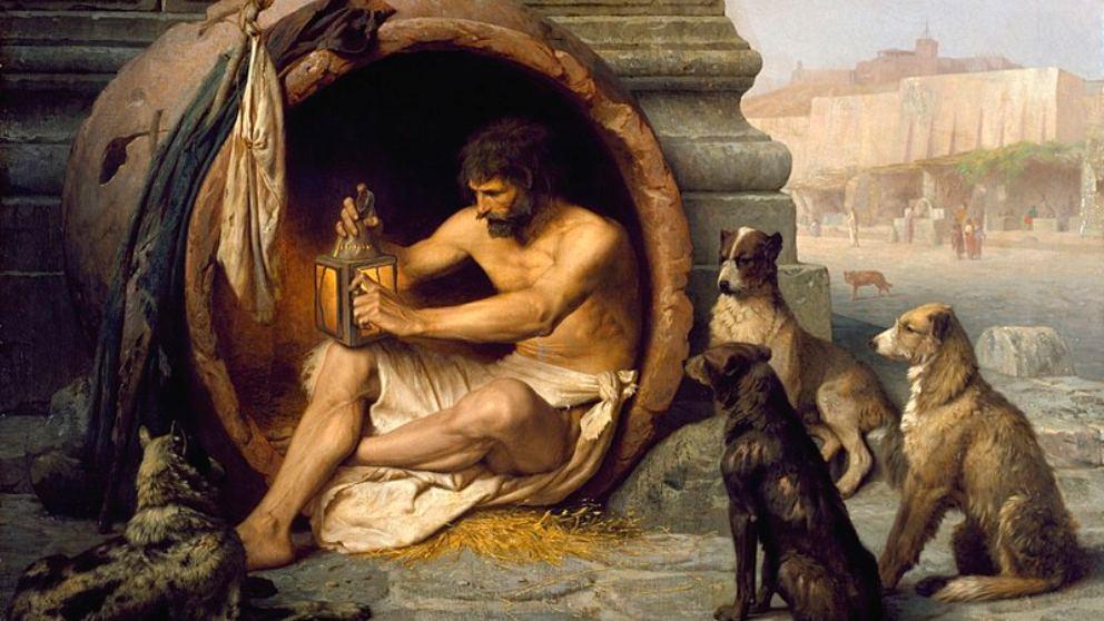Lee frases de Diógenes de Sinope