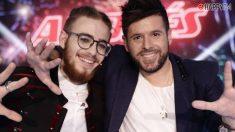Pablo López y Andrés Martín, ganadores de La Voz