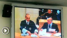 El fiscal Alejandro Luzón interroga a Rodrigo Rato