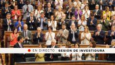 Debate de investidura de Pedro Sánchez en el Congreso de los Diputados