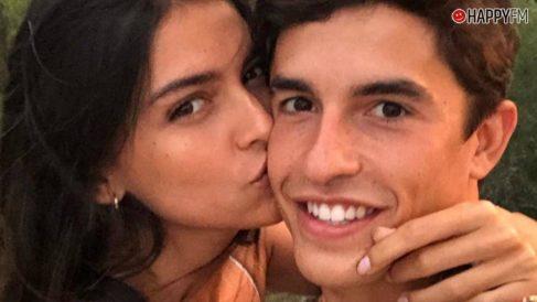Lucía Rivera y Marc Marquez