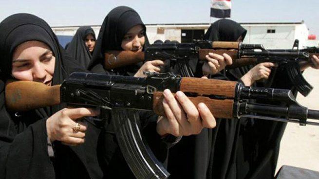 Mujeres yihadistas.