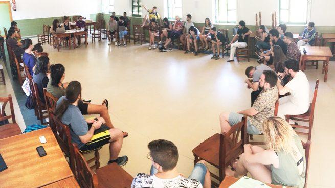Reunión de las juventudes de Podemos, Rebeldía