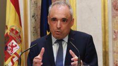 Rafael Simancas en el Congreso de los Diputados. (Foto. PSOE)