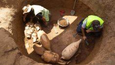 Restos arqueológicos romanos en Badalona. @EFE