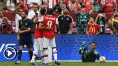 Real Madrid – Arsenal: resumen del partido de la International Champions Cup 2019 (2 (3)-2 (2)).