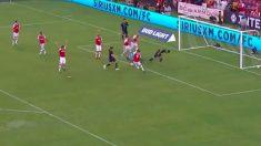 Gareth Bale volvió a jugar y marcó en el Real Madrid – Arsenal de la International Champions Cup 2019.