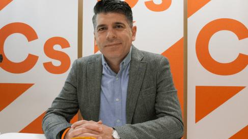 Vicente Marañón, concejal e C's en el Ayuntamiento de Burgos. @Ciudadanos