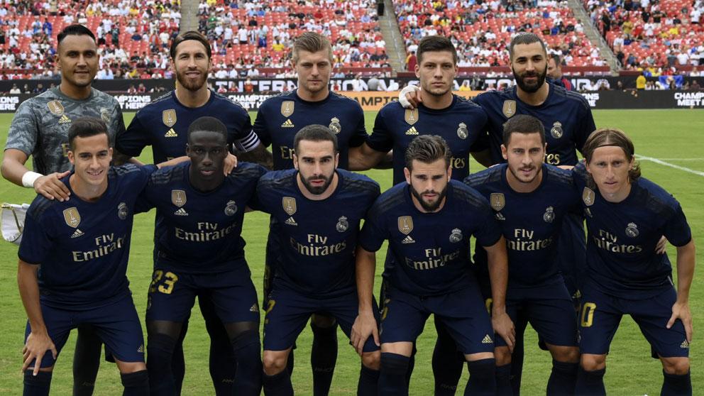 El-once-titular-del-Real-Madrid-para-medirse-al-Arsenal-en-el-segundo-encuentro-de-la-pretemporada-(AFP)