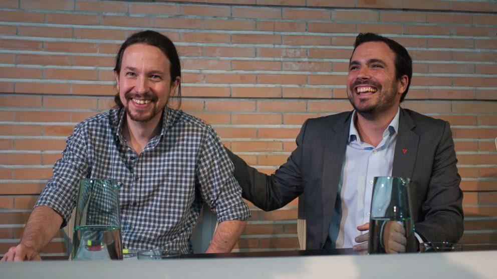 Alberto Garzón y Pablo Iglesias, de Unidas Podemos @Getty