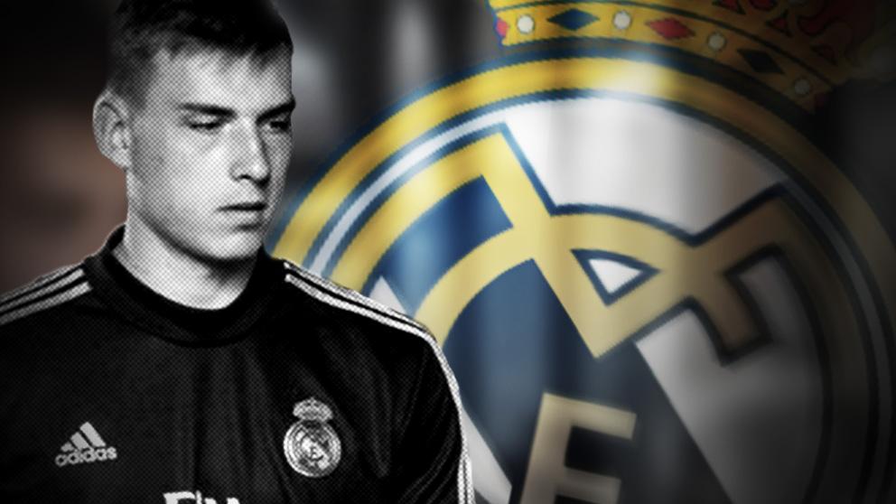 Lunin tendrá que salir cedido otro año del Real Madrid.