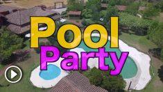 Pool Party en Candeleda.