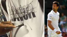 Así-dejó-Nick-Kyrgios-la-camiseta-de-un-seguidor-de-Djokovic-que-le-pidió-un-autógrafo (Captura de Instagram / Getty)