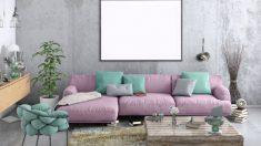 Pasos para pintar o teñir un sofá