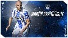 Martin Braithwaite, nuevo fichaje del Leganés (Club Deportivo Leganés)