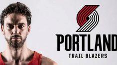 Pau Gasol jugará en los Portland Trail Blazers. (Twitter)