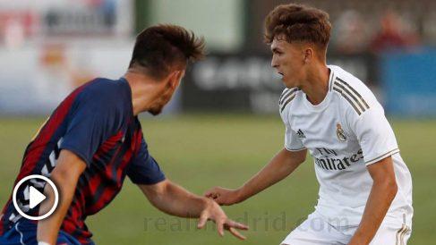 El Real Madrid tiene futuro en la delantera del Castilla.
