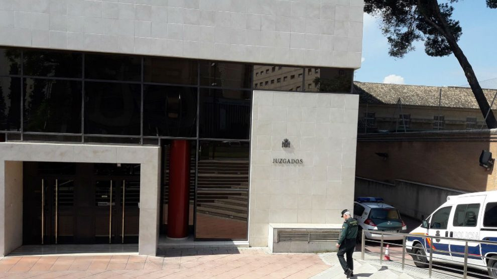 Sede de los juzgados de Granada. (EP)